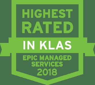 2018 Highest Rated KLAS icon