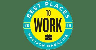 Madison Magazine Best Places 2019 badge