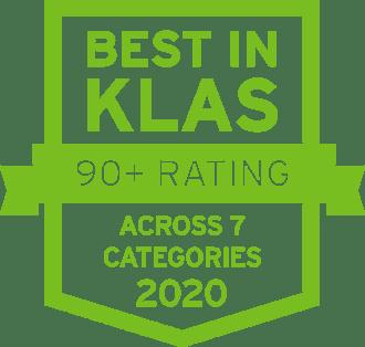 2020 Best in KLAS icon